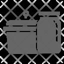 Jar Utensil Kitchen Icon
