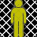 Jaundice Human Man Icon
