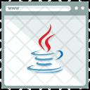 Java Webpage Window Icon