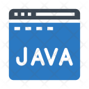 Java Programming Coding Icon