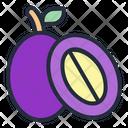 Java Plum Fruit Food Icon