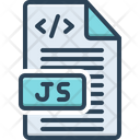 Java Script Programming Coding Icon