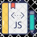 Java Script Book Programming Book Coding Book Icon