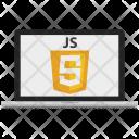 Javascript Code Development Icon