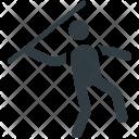 Javelin Thrower Olympics Icon