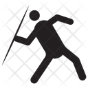 Javelin Olympic Game Sportsman Icon