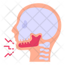 Jaw Injury Jaw Pain Facial Pain Icon