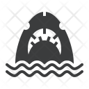 Jaws Shark Whale Icon