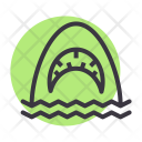 Jaws Shark Sea Icon