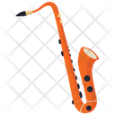 Jazz Saxophone Icon