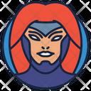 Jean Gray Warrior Superhero Icon