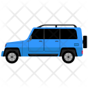 Jeep Suv Travel Icon
