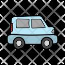 Jeep Automobile Vehicle Icon