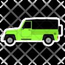 Jalopy Travel Vehicle Icon