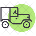 Jeep Vehicle Transport Icon
