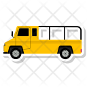 Jeep Automobile Transport Icon