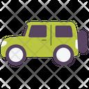 Transport Vehicle Jeep Icon