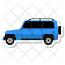 Jeep Transport Travel Icon