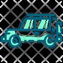 Jeep Car Travel Icon