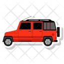 Jeep Car Hunting Icon