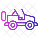 Car Holiday Jeep Icon
