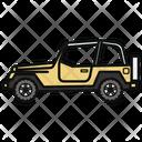 Auto Jeep Car Icon