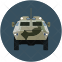 Jeep Military Weapon Icon