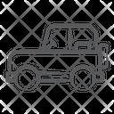 Automobile Jeep Quadro Icon