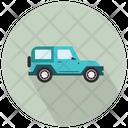 Jeep Vehicle Car Icon
