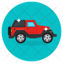 Travel Jeep Car Icon