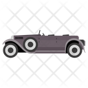 Vintage Jeep Car Transport Icon