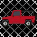 Jeep Car Hatchback Icon