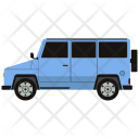 Jeep Automobile Car Icon