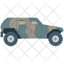 Jeep Military Trekking Icon