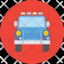 Jeep Travel Transport Icon