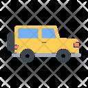 Offroad Jeep Car Icon