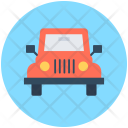 Jeep Travel Suv Icon