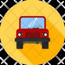 Jeep Trekking Car Icon