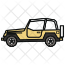 Jeep Car Automobile Icon