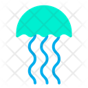 Jelly Fish Animal Underwater Creature Icon