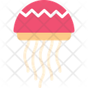Jelly Fish Fish Seafood Icon