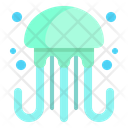 Jelly Fish Sea Icon