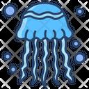 Jelly Fish Fish Sea Animal Icon