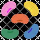 Jelly Jellybean Bean Icon