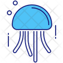 Jellyfish Fish Sea Animal Icon