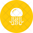 Jellyfish Fish Marine Icon