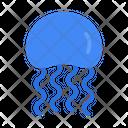 Jellyfish Animal Sea Icon