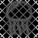 Fish Jellyfish Marine Creature Icon