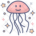 Fish Jellyfish Marine Creature Icon