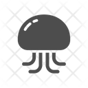 Jellyfish Aquatic Animal Sea Creature Icon